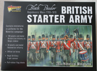 Warlord Games 28mm WGN-BR-08 Napoleonic British Starter Set (Waterloo)